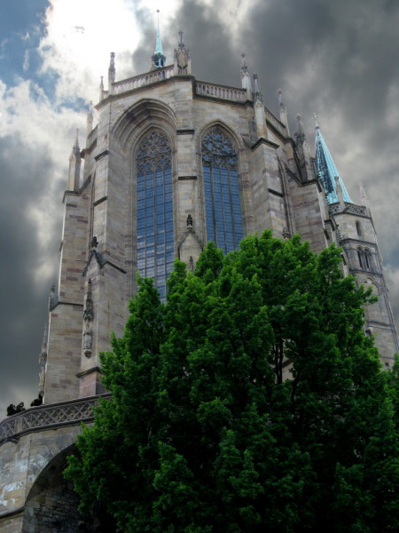 Erfurter Dom (Pseudo-HDR)