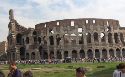 Das Kolosseum.