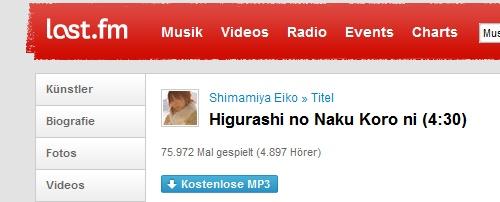 Eiko Shimamiya auf Last.fm