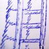 Leiter, daneben das Dreiaugenschwein aus Marzipan