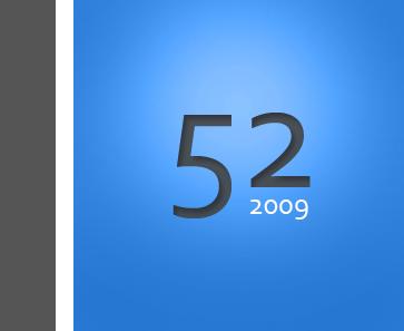 Projekt 52 Logo in Blau