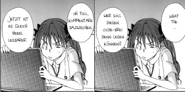 Kuroko und Code-Stil