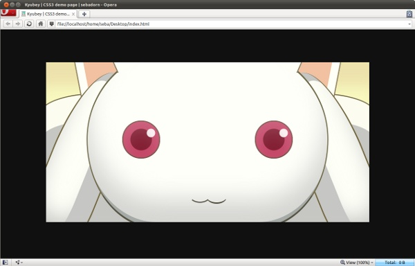 Kyubey-CSS3-Madness