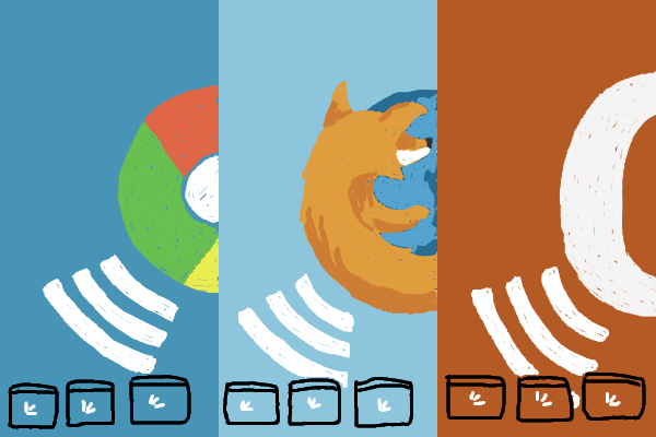 Browser: Chrome, Firefox, Opera